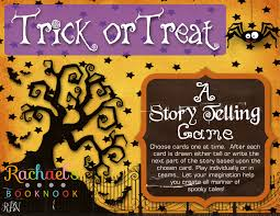 halloween storytelling game rachael s booknook if you have older children who are learning to write their own story these cards can help make excellent