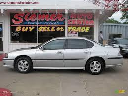 2003 Galaxy Silver Metallic Chevrolet Impala LS #16996780 ...