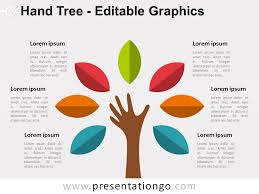tree diagram powerpoint tree diagram powerpoint hand tree powerpoint diagram presentationgo