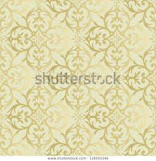 Gold Damask Background Art Vintage Gold Damask Pattern Background Stock Image