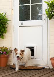dog into garden upvc 2 thinking of having a cat flap fitted