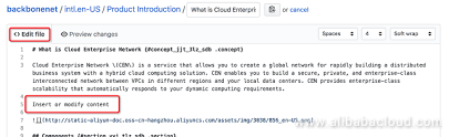 How to Edit Alibaba Cloud Open-Source Documentation