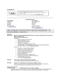 Hobbies And Interests For A Resume Resume Cover Letter Template
