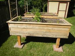 build a raised bed from pallets raise your garden musings on the seer side