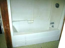 one piece tubs shower one piece bathtub shower combo installation the 3 piece tub shower installation
