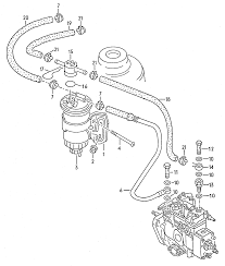 Схема топливной системы фольксваген кадди 2 0