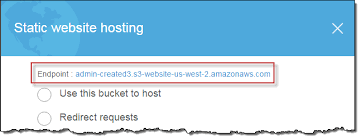 How Do I Configure an S3 Bucket for Static Website Hosting? - Amazon ...