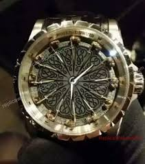 roger dubuis excalibur knights of the round table leather ban watch 2 th