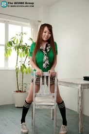 Busty Chubby Asian Schoolgirl Hitomi Tanaka with Huge Naturals.