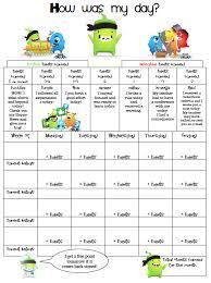 Point System Chart For Behavior Scientific Second Grade Behavior Chart School Behavior