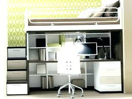 bunk bed with office underneath. Modern Loft Beds With Desk Bed Workstation And  . Bunk Office Underneath D
