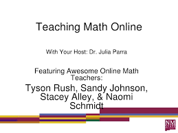teaching math online jpg cb  teaching math online<br > your host dr julia parra<