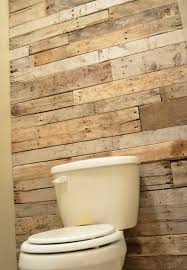 recycled pallet bathroom accent wall bathroom accent furniture