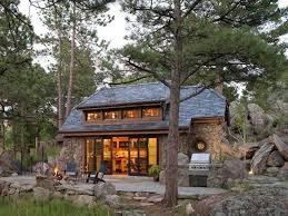tiny mountain houses. Modren Houses House Crush Tour This Perfectly Rustic Tiny Mountain Home In Colorado   CountryLivingcom To Houses U