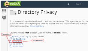 How to password protect WordPress directories - HostPapa Knowledge Base