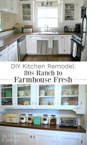 diy kitchen remodel see how we turned our 80s ranch kitchen into an age