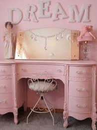 pink shabby chic furniture. vintage pink dresser in baby girl room simply shabby chic perfect for a little to play dress up furniture