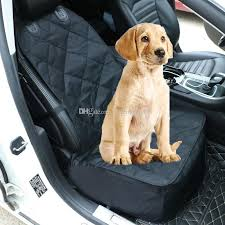 waterproof and anti fouling black color pet dog cat car seat cover