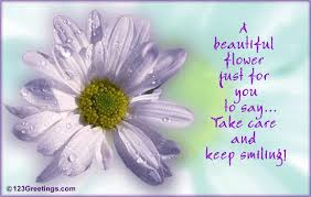 Beautiful Quotes With Flowers Best Of Keep Smiling Quotes A Beautiful Flower Just For You To Say Take