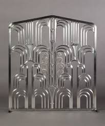 Art deco fireplace screen Cool Art Deco Grill fireplace Screen Made In The Style Of Edgar Brandts Amazing Work Pinterest Art Deco Grill fireplace Screen Made In The Style Of Edgar