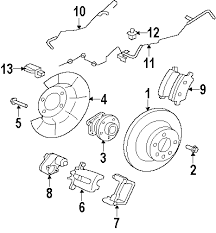 com acirc reg volvo actuator s power parking brake from ch 2009 volvo s80 t6 l6 3 0 liter gas parking brake