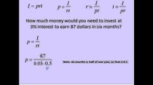 Simple Interest I Prt Simplifying Math
