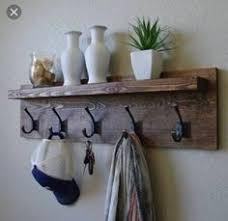 Wood Coat Rack Diy Farmhouse Coat Hanger From Pallet Wood Coat Hanger Wood Projects 21