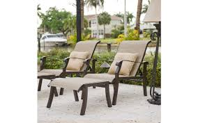 outdoor patio reclining sling chair with ottoman ideas