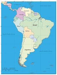 Editable South America Outline Map Illustrator Pdf Digital