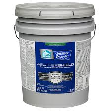 home by sherwin williams weathershield tintable satin latex exterior paint actual net contents