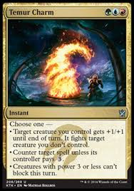 charms are a pretty cool concept in magic the gathering they are cards that can serve a variety of purposes by giving you one of several options