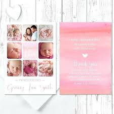 Baby Birth Announcement Template Twins By Twin Templates ...