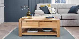 Looking for a storage coffee table to maximise your small space? Coffee Tables Oak Solid Wood Oak Furnitureland