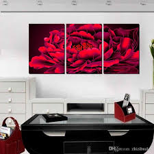 2018 no frame canvas prints peony branch flower abstract art oil painting mountain waterfall tree eggs daisy fish nature from zhizihuakai 24 49 dhgate