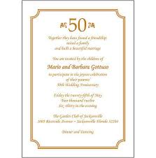 50th Anniversary Party Invitations 25 Personalized 50th Wedding Anniversary Party Invitations Ap 010 Ebay
