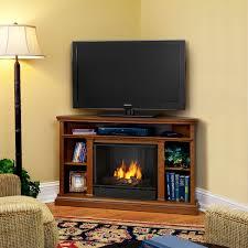 real flame churchill corner indoor ventless gel fireplace