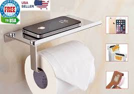 wall mount toilet paper tissue holder