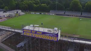 Directions to mississippi veterans memorial stadium. Jones County High School Stadium Aerial View From Drone13 13wmaz Com