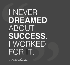 Work Motivational Quotes Excellent Motivational Quote About Hard Work I Never dreamed about 27