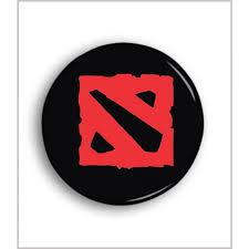 Online Badge Dota 2 Logo Pin Badge