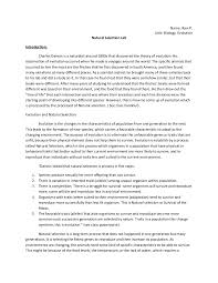 biologoy lab report