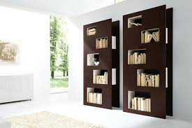 contemporary book shelf modern brown bookcase ideas modern bookshelf wall unit