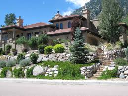 Small Picture Broadmoor Boulder Retaining Walls Fredell Enterprises