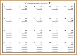 Kindergarten 7 Long Multiplication Worksheets | Lvn Resume Ks3 ...