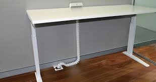 office cable tidy. Cable Snake - Sit To Stand Office Tidy