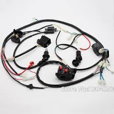 full electric start engine wiring harness loom gy6 125 150cc quad gy6 150cc go kart wiring harness at 150cc Go Kart Wiring Harness
