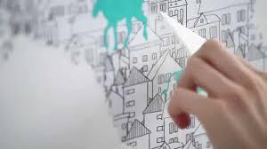 Dekornik   How to stick up <b>wall map stickers</b> - YouTube