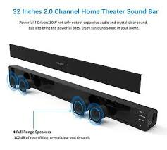 details about best bluetooth surround sound system for tv stereo full bar soundbar deep bass