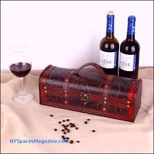 retro wooden wine gift box red wine champagne storage wrap packaging vin ng suitcase travel kit