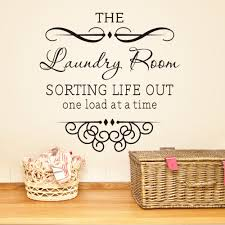 Small Picture Aliexpresscom Buy laundry room rules quote wall decal 8377